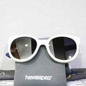 Occhiale da sole bianco aste blue unisex-HAVAIANAS