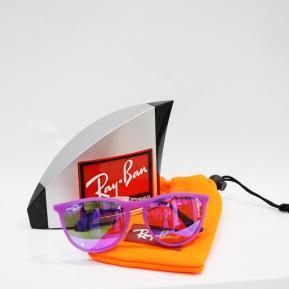Occhiale da sole Bambina Ray-Ban con lenti flashate viola